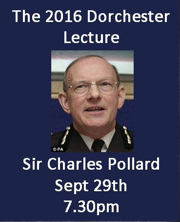Charles Pollard Dorchester Lecture