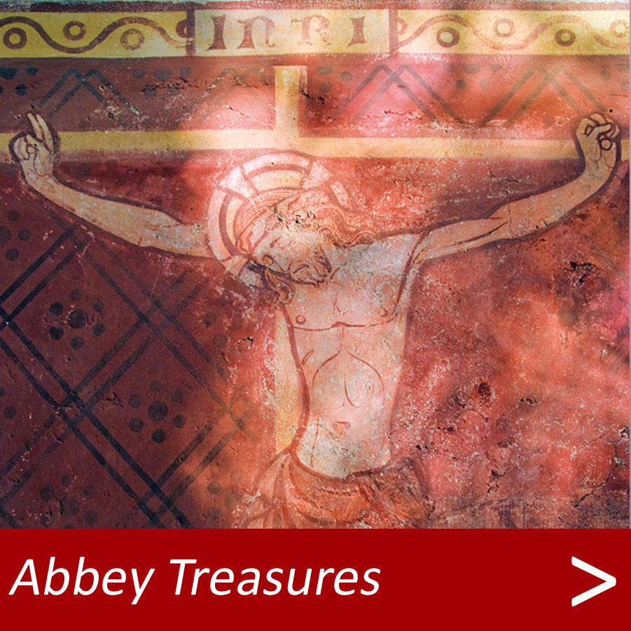 Treasures at Dorchester Abbey