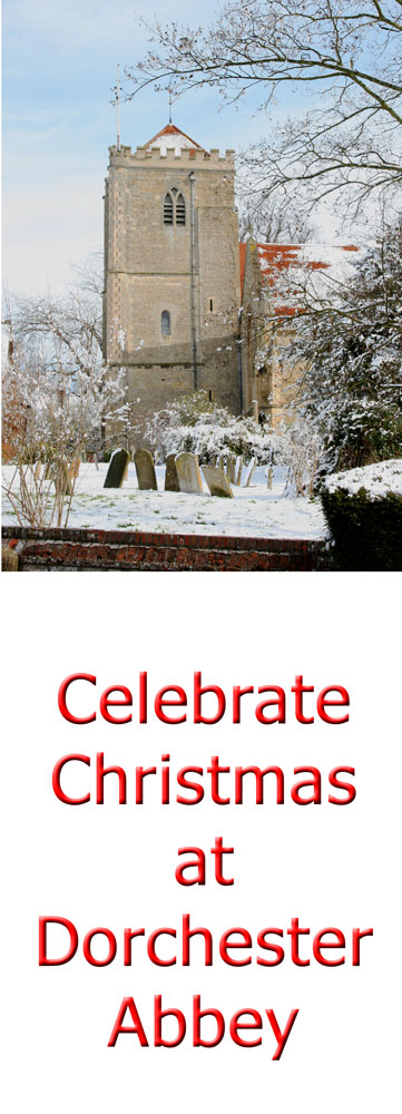 Celebrate Christmas at Dorchester Abbey