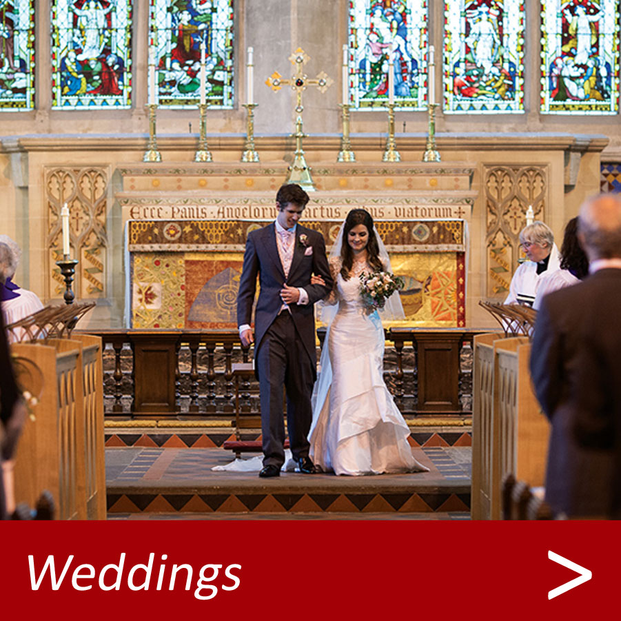 weddings at Dorchester Abbey