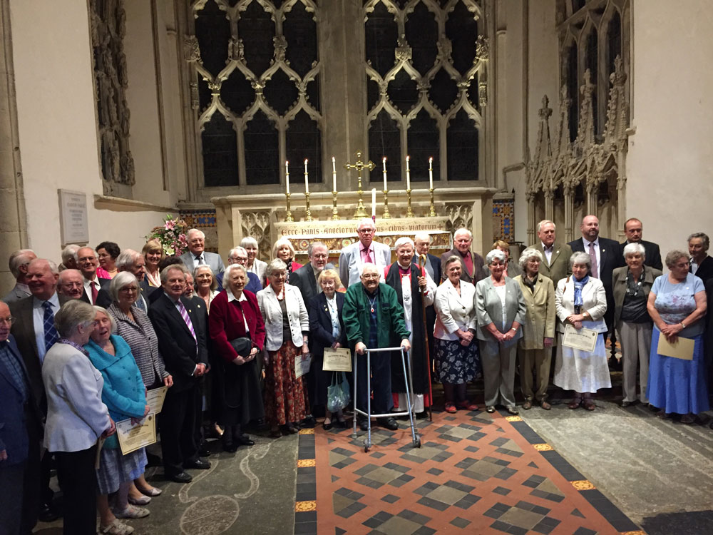 The 2015 Fellowship of St Birinus with the Bishop of Dorchester