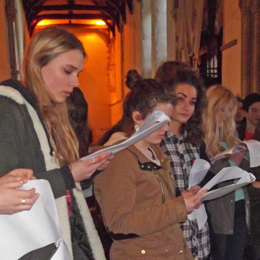 Dorchester Abbey Sixth form visit