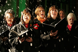 Village Carol Singing @ The Fleur de Lys Pub | Dorchester | England | United Kingdom