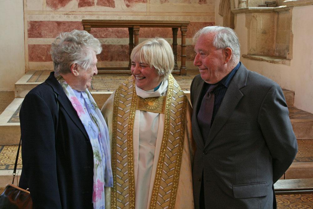 marriage milestones at Dorchester Abbey