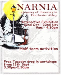 Narnia Exhibition @ Dorchester Abbey | Dorchester | United Kingdom