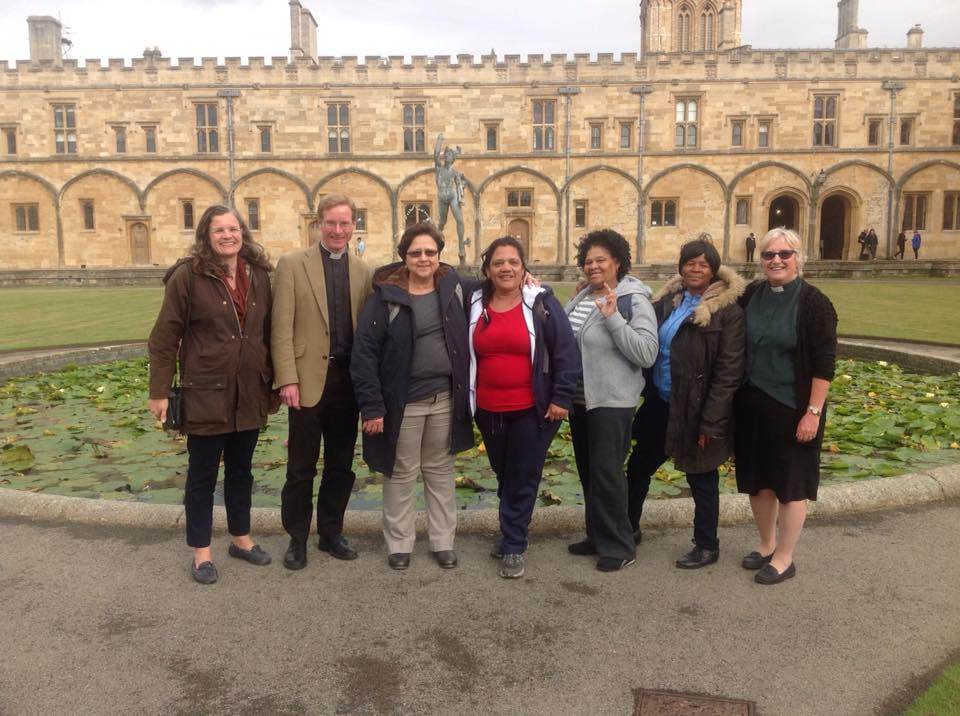South African visitors to Dorchester Abbey