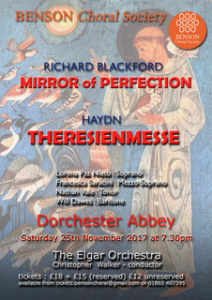 Benson Choral Society- Autumn Concert @ Dorchester Abbey | Dorchester | England | United Kingdom