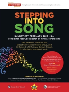 Stepping into Song - an evening of music @ Dorchester Abbey | England | United Kingdom