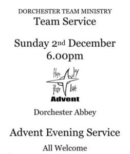 Advent Carol Service @ Dorchester Abbey   Dorchester   England   United Kingdom