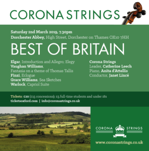 Corona Strings Best of Britain @ Dorchester Abbey | Dorchester | England | United Kingdom