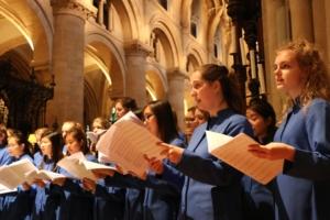 Headington School Evensong @ Dorchester Abbey