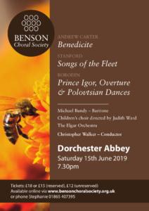 Benson Choral Society - Carter, Stanford & Borodin @ Dorchester Abbey