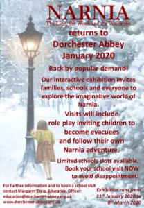 NARNIA returns to Dorchester Abbey @ Dorchester Abbey