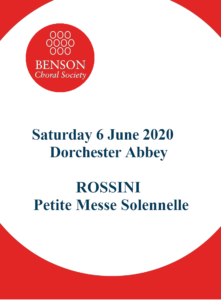 Cancelled - Rossini's - Petite Messe Solennelle @ Dorchester Abbey